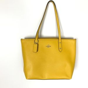 Coach Central Tote Double Strap